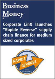 Lancement de notre offre « Rapide Reverse » pour les PME. « Rapide Reverse » is launched for medium size corporates.