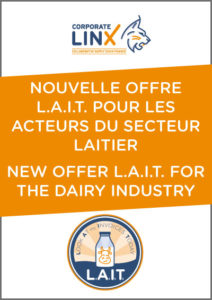 Nouvelle offre L.A.I.T. pour les acteurs du secteur laitier - New offer L.A.I.T. For the dairy industry