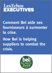 Comment Bel aide ses fournisseurs à surmonter la crise - How Bel is helping suppliers to combat the crisis